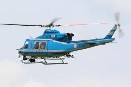 レガシィさんが、宇都宮飛行場で撮影した岩手県警察 412EPの航空フォト(飛行機 写真・画像)
