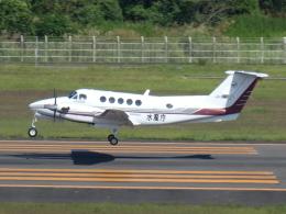 宮城の航空ファンさんが、仙台空港で撮影した中日本航空 B200 Super King Airの航空フォト(飛行機 写真・画像)