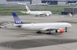 サリーちゃんのパパさんが、羽田空港で撮影したスカンジナビア航空 A330-343Xの航空フォト(飛行機 写真・画像)