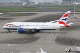 サリーちゃんのパパさんが、羽田空港で撮影したブリティッシュ・エアウェイズ 787-8 Dreamlinerの航空フォト(飛行機 写真・画像)
