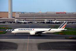 まいけるさんが、羽田空港で撮影したエールフランス航空 A350-941の航空フォト(飛行機 写真・画像)
