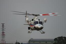 ここはどこ?さんが、札幌飛行場で撮影した国土交通省 北海道開発局 412EPIの航空フォト(飛行機 写真・画像)