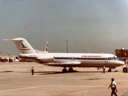 twinengineさんが、ジョン・F・ケネディ国際空港で撮影したピードモント航空 F28 Fellowshipの航空フォト(飛行機 写真・画像)