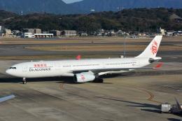 kan787allさんが、福岡空港で撮影した香港ドラゴン航空 A330-342の航空フォト(飛行機 写真・画像)