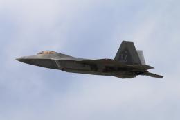 キャスバルさんが、ダニエル・K・イノウエ国際空港で撮影したアメリカ空軍 F-22A-30-LM Raptorの航空フォト(飛行機 写真・画像)