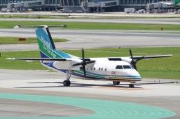 HEATHROWさんが、福岡空港で撮影したオリエンタルエアブリッジ DHC-8-201Q Dash 8の航空フォト(飛行機 写真・画像)
