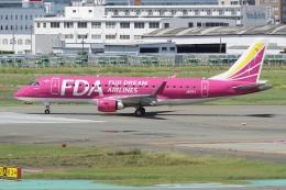 HEATHROWさんが、福岡空港で撮影したフジドリームエアラインズ ERJ-170-200 (ERJ-175STD)の航空フォト(飛行機 写真・画像)