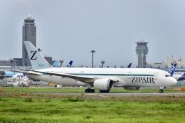 はやさんが、成田国際空港で撮影したZIPAIR 787-8 Dreamlinerの航空フォト(飛行機 写真・画像)