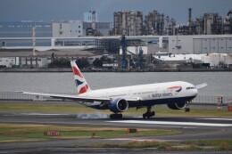 PIRORINGさんが、羽田空港で撮影したブリティッシュ・エアウェイズ 777-336/ERの航空フォト(飛行機 写真・画像)