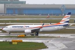 S.Hayashiさんが、アムステルダム・スキポール国際空港で撮影したスマート・ウイングス 737-86Qの航空フォト(飛行機 写真・画像)
