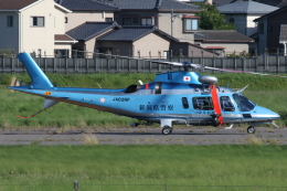 ゴンタさんが、新潟空港で撮影した新潟県警察 A109E Powerの航空フォト(飛行機 写真・画像)