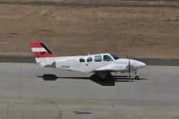 kumagorouさんが、仙台空港で撮影したエアフライトジャパン 58 Baronの航空フォト(飛行機 写真・画像)