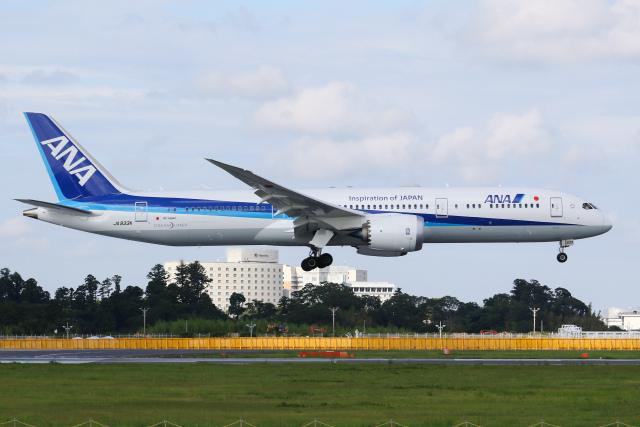 航空フォト:JA933A 全日空 787-9
