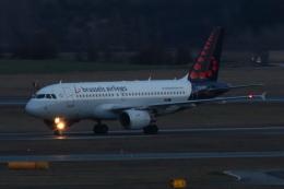S.Hayashiさんが、ウィーン国際空港で撮影したブリュッセル航空 A319-112の航空フォト(飛行機 写真・画像)