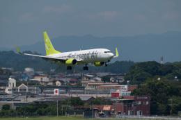 マックパパさんが、宮崎空港で撮影したソラシド エア 737-86Nの航空フォト(飛行機 写真・画像)