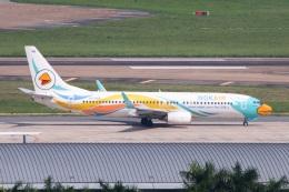 S.Hayashiさんが、タンソンニャット国際空港で撮影したノックエア 737-88Lの航空フォト(飛行機 写真・画像)