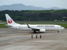 ✈︎Love♡ANA✈︎さんが、長崎空港で撮影した日本航空 737-846の航空フォト(飛行機 写真・画像)