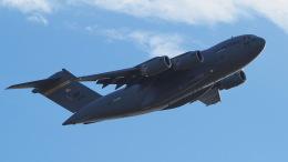 ららぞうさんが、千歳基地で撮影したアメリカ空軍 C-17A Globemaster IIIの航空フォト(飛行機 写真・画像)