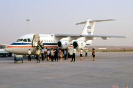 apphgさんが、銀川河東空港で撮影した中国西北航空 BAe-146-100の航空フォト(飛行機 写真・画像)
