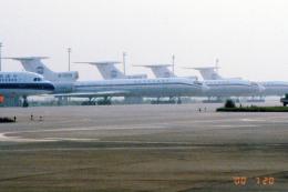 apphgさんが、西安咸陽国際空港で撮影した中国西北航空 Tu-154Mの航空フォト(飛行機 写真・画像)