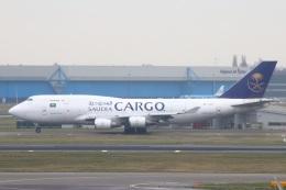 S.Hayashiさんが、アムステルダム・スキポール国際空港で撮影したサウディア 747-481(BDSF)の航空フォト(飛行機 写真・画像)