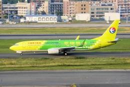 kan787allさんが、福岡空港で撮影した中国東方航空 737-89Pの航空フォト(飛行機 写真・画像)
