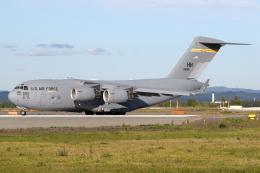 Echo-Kiloさんが、千歳基地で撮影したアメリカ空軍 C-17A Globemaster IIIの航空フォト(飛行機 写真・画像)