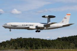 Echo-Kiloさんが、千歳基地で撮影したアメリカ空軍 E-3B Sentry (707-300)の航空フォト(飛行機 写真・画像)