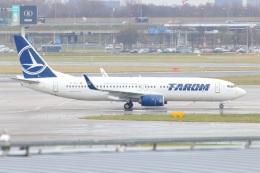 S.Hayashiさんが、アムステルダム・スキポール国際空港で撮影したタロム航空 737-82Rの航空フォト(飛行機 写真・画像)