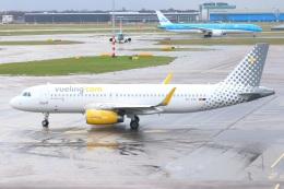 S.Hayashiさんが、アムステルダム・スキポール国際空港で撮影したブエリング航空 A320-232の航空フォト(飛行機 写真・画像)