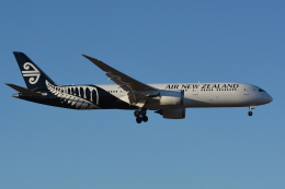 Deepさんが、成田国際空港で撮影したニュージーランド航空 787-9の航空フォト(飛行機 写真・画像)