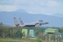 博タンさんが、千歳基地で撮影したアメリカ空軍 F-15C-31-MC Eagleの航空フォト(飛行機 写真・画像)