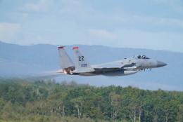 博タンさんが、千歳基地で撮影したアメリカ空軍 F-15C-33-MC Eagleの航空フォト(飛行機 写真・画像)