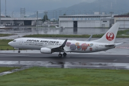 qooさんが、高松空港で撮影した日本航空 737-846の航空フォト(飛行機 写真・画像)