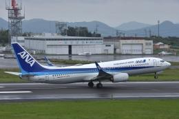 qooさんが、高松空港で撮影した全日空 737-8ALの航空フォト(飛行機 写真・画像)