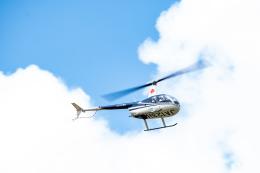 あけみさんさんが、龍ケ崎飛行場で撮影した日本法人所有 R44 Raven IIの航空フォト(飛行機 写真・画像)