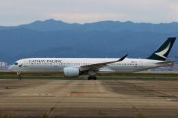 PW4090さんが、関西国際空港で撮影したキャセイパシフィック航空 A350-941の航空フォト(飛行機 写真・画像)