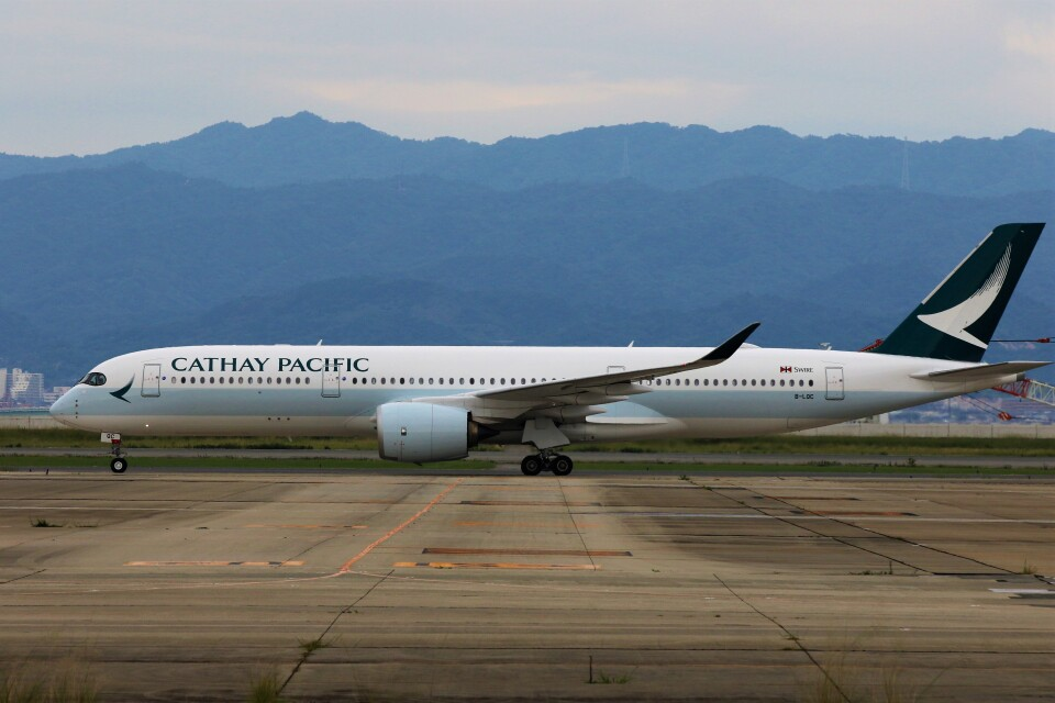 PW4090さんのキャセイパシフィック航空 Airbus A350-900 (B-LQC) 航空フォト