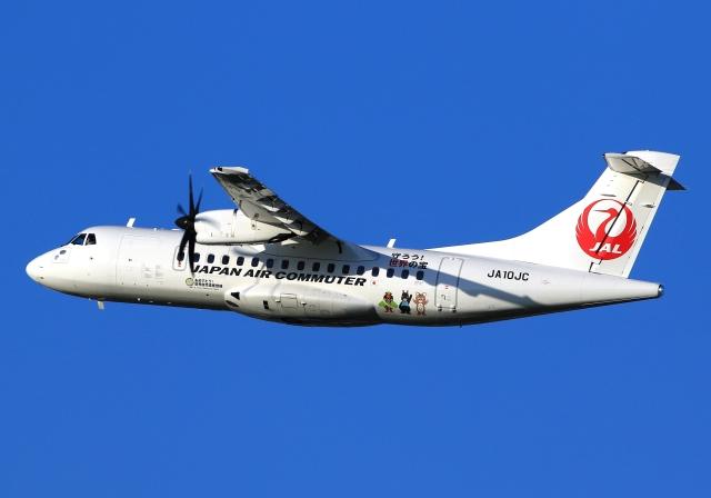 航空フォト:JA10JC 日本エアコミューター ATR 42