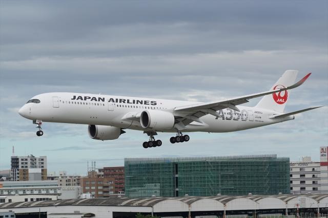 航空フォト:JA02XJ 日本航空 A350-900
