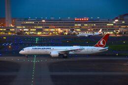 まいけるさんが、羽田空港で撮影したターキッシュ・エアラインズ 787-9の航空フォト(飛行機 写真・画像)