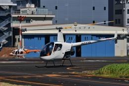 Mizuki24さんが、東京ヘリポートで撮影した日本個人所有 R22 Beta IIの航空フォト(飛行機 写真・画像)