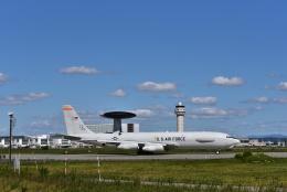カシオペアさんが、千歳基地で撮影したアメリカ空軍 E-3B Sentry (707-300)の航空フォト(飛行機 写真・画像)