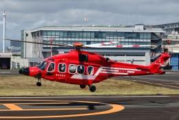 Mizuki24さんが、東京ヘリポートで撮影した東京消防庁航空隊 AW189の航空フォト(飛行機 写真・画像)