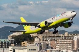 kan787allさんが、福岡空港で撮影したジンエアー 777-2B5/ERの航空フォト(飛行機 写真・画像)