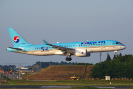 Tatsuya.Kさんが、成田国際空港で撮影した大韓航空 A220-300 (BD-500-1A11)の航空フォト(飛行機 写真・画像)