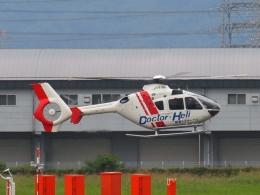 FT51ANさんが、八尾空港で撮影した学校法人ヒラタ学園 航空事業本部 EC135P2+の航空フォト(飛行機 写真・画像)
