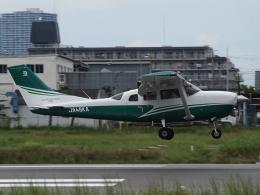 FT51ANさんが、八尾空港で撮影した共立航空撮影 Turbo Stationair TC (T206H)の航空フォト(飛行機 写真・画像)