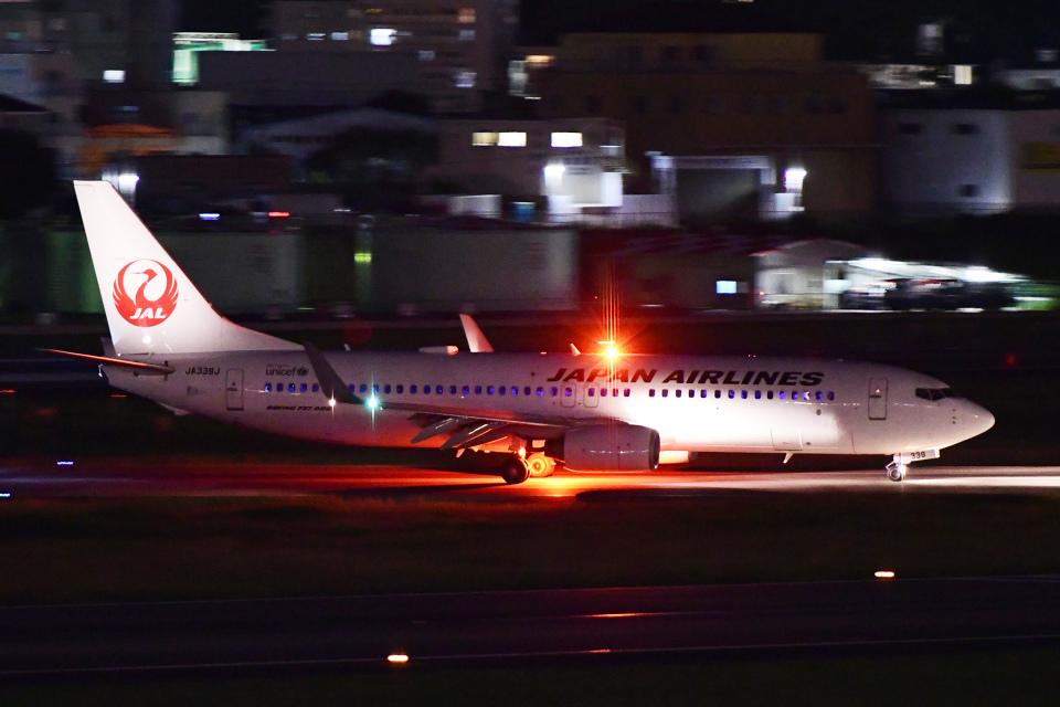 TOPAZ102さんの日本航空 Boeing 737-800 (JA339J) 航空フォト