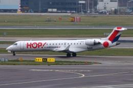 S.Hayashiさんが、アムステルダム・スキポール国際空港で撮影したエールフランス・オップ! CL-600-2C10(CRJ-701)の航空フォト(飛行機 写真・画像)
